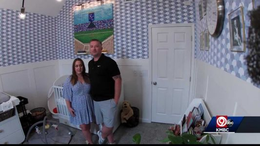 'It started out as just luck': HGTV star helps expecting parents turn man cave into nursery