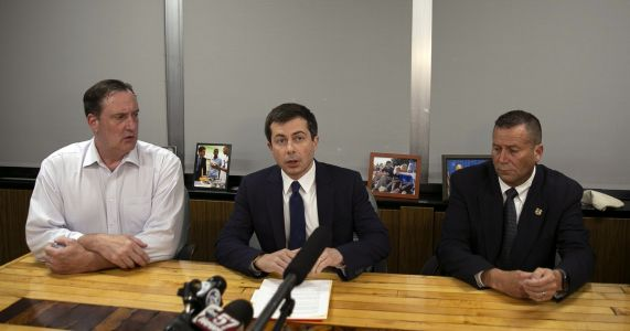 Buttigieg returns to South Bend after man killed by police