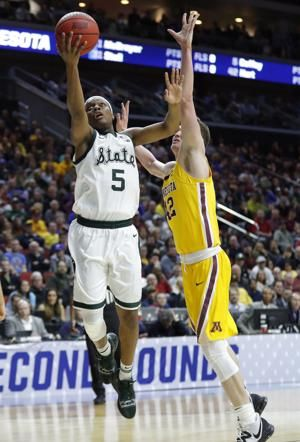 Spartans rout Gophers to reach Sweet 16; 1st time since '15
