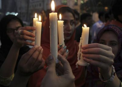 Pakistan city shuts down, mourns 61 killed at police academy
