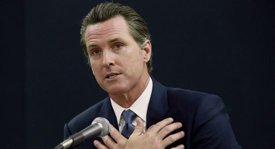 Newsom takes his case against death penalty to national stage