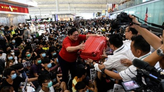 Opinion: Hong Kong Protesters Might Bother Tourists, Or Pierce Their Conscience