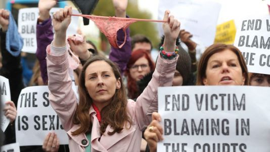 ThisIsNotConsent: Protests In Ireland After Thong Underwear Cited In Rape Trial