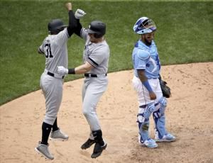 Yankees hold on for DH sweep of Royals, win 7th straight