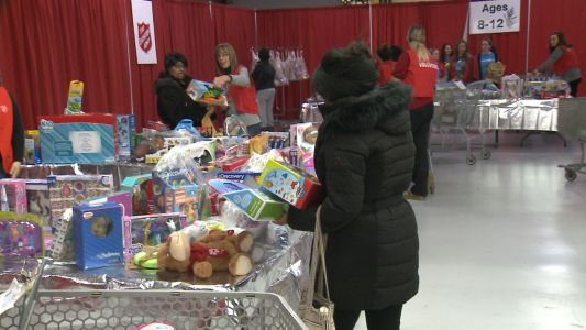 Salvation Army faces toy shortage amid record need