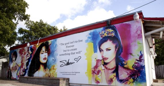New Selena mural graces slain singer's Texas neighborhood