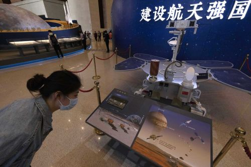 China lands spacecraft on Mars for the first time in latest advance for its space program