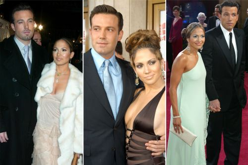 Jennifer Lopez and Ben Affleck's best couple style moments from the 2000s