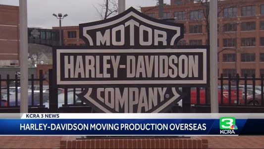 Business News: Harley-Davidson to shift production overseas