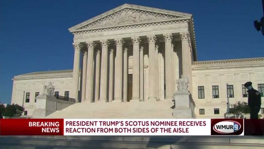 President Trump's Supreme Court nominee receives reaction from both sides of the aisle