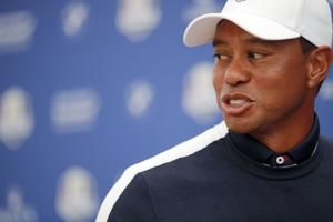 McIlroy says Tiger Woods 1 of 12 Americans at Ryder Cup