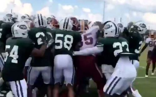Wild Jets-Redskins brawl breaks out at practice