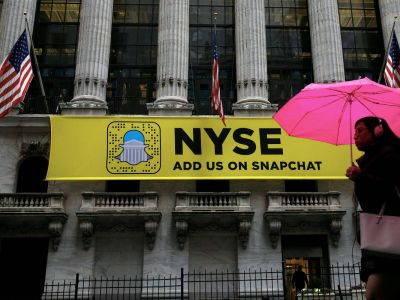 Snap makes its Wall Street debut - in Twitter's annual report