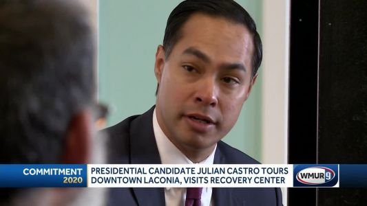 Presidential candidate Castro visits Laconia recovery center
