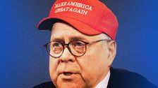 William Barr Might As Well Have Been Wearing A MAGA Hat At The Mueller Briefing