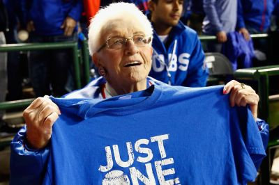 90-year-old Cubs fan plans to party harder than anyone