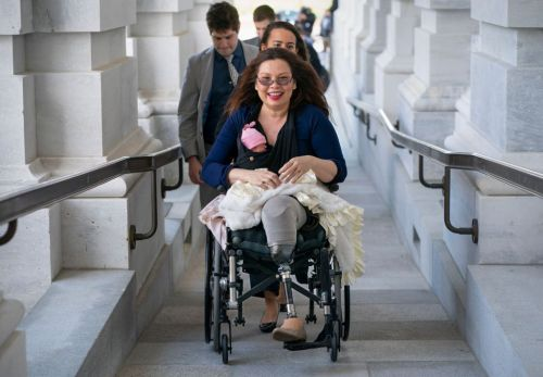 5 Politicians Who Brought Their Babies to Work Like Sen. Tammy Duckworth Did Today