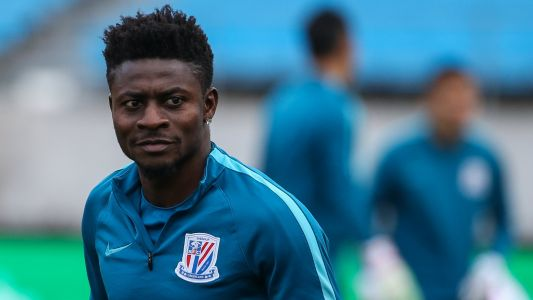 EXTRA TIME: Obafemi Martins goes cruising on his yacht