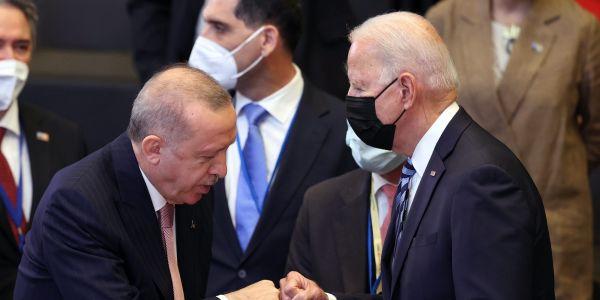 Biden and Erdogan play nice at NATO summit, showing the US and Turkey still need each other despite tensions