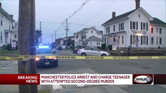 Teen arrested in connection with Manchester shooting