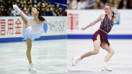 US figure skater 'deliberately slashes Korean rival with blade' at world champs