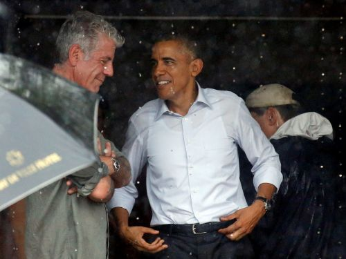 Obama shares touching tribute to Anthony Bourdain: 'He taught us about food's ability. to make us a little less afraid of the unknown'
