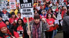 Los Angeles Teachers Union Reach Agreement With District Amid Strike