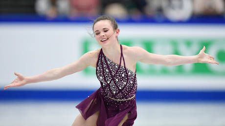 'Look at her, could she ever hurt anyone?' Coach defends US skater accused of slashing rival