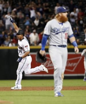 Dodgers lose to the Diamondbacks on a walk-off homer 4-3