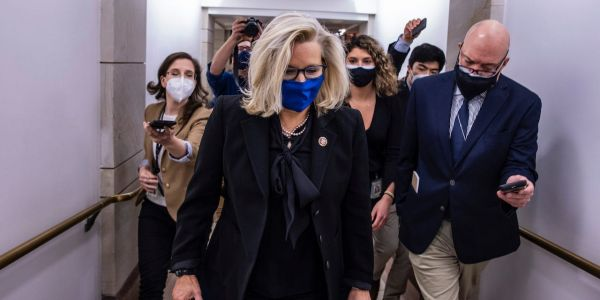 Republicans oust Rep. Liz Cheney from leadership over her opposition to Trump and GOP election lies