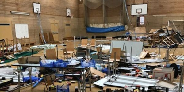 Train enthusiasts mourn 'total wanton destruction of the highest order' after vandals smashed up their model railway convention