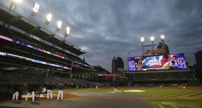 LEADING OFF: Cubs, Indians loosen up day before World Series