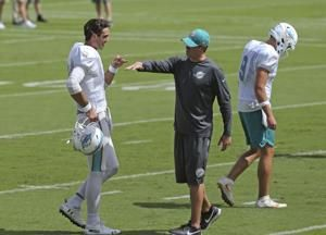 Dolphins QB Tannehill ruled out Sunday against Lions