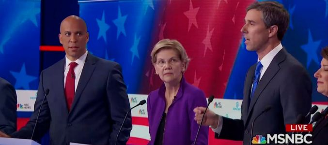 Democrats gave Beto O'Rourke a look when he started speaking in Spanish at the first 2020 Democratic debate