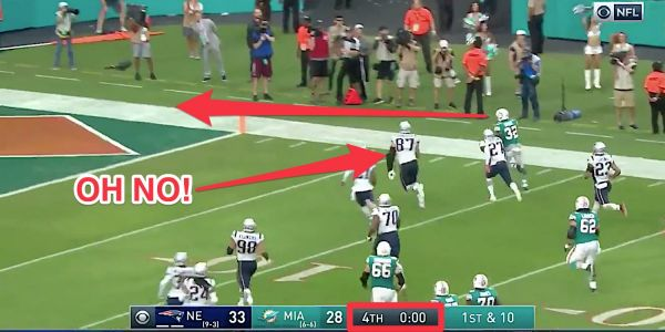 Dolphins pull off stunning upset over Patriots with last-second hook-and-ladder play