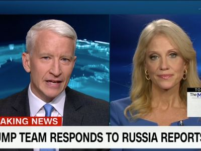 Anderson Cooper and one of Trump's top advisers battle over Russia report