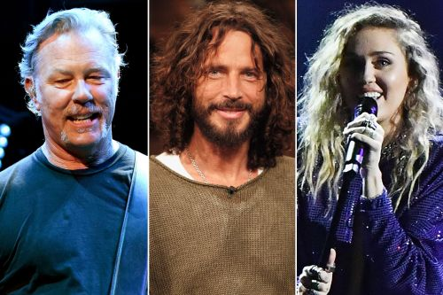 Metallica, Miley Cyrus perform at Chris Cornell tribute