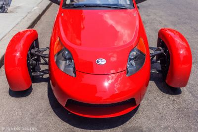 Elio's tiny car gets 84 mpg and costs only $7,300 - here's what it was like