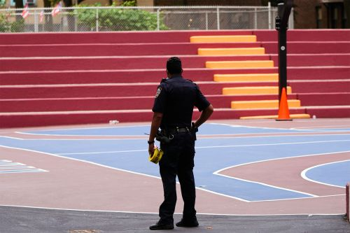 Woman's neck grazed by bullet on basketball court in spate of NYC shootings