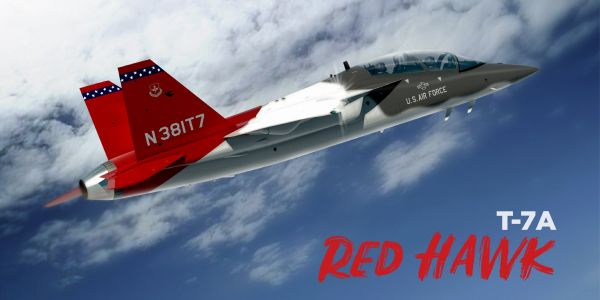 Check out the Air Force's new T-7A Red Hawk, named for the legendary Tuskegee Airmen