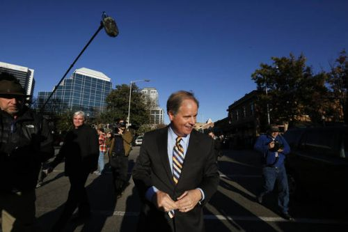 The Latest: RNC official quits over group's support of Moore