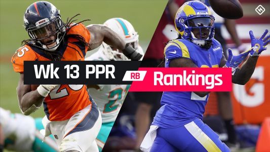 Week 13 Fantasy RB PPR Rankings: Must-starts, sleepers, potential busts