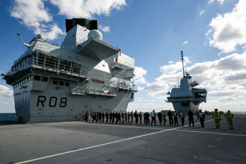 Inside the Royal Navy's largest ship, HMS Queen Elizabeth