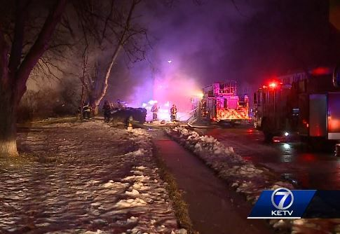 Papillion home destroyed by fire