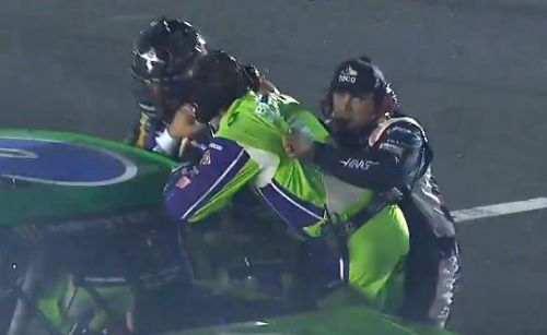 NASCAR driver throws punches after end of All-Star Race