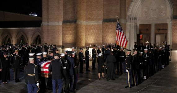 News guide: George HW Bush's final farewell, burial in Texas