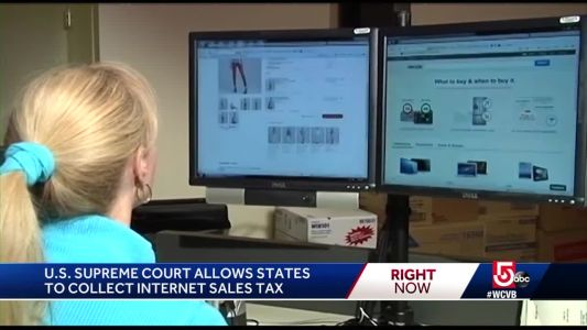 U.S. Supreme Court allows states to collect internet sales taxes