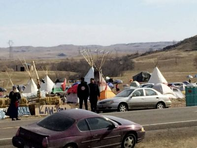 Company asks pipeline protesters to leave North Dakota land