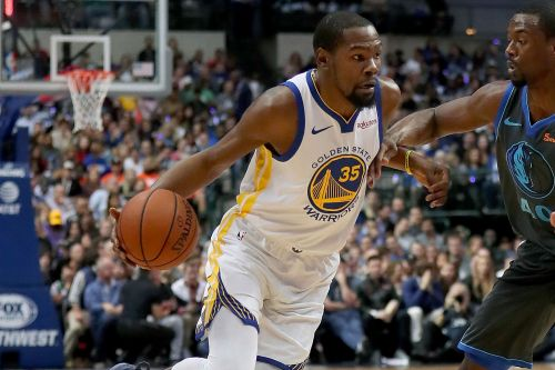 Cursing at fans lands Warriors' Kevin Durant a $25K fine