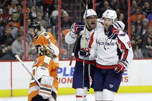 NHL: Kuznetsov's two goals help Caps stop Flyers